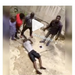 Thief jumps into the lagoon after snatching phone from a passenger in Lagos traffic