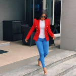 Toke Makinwa reacts to the treatment of corps members by INEC