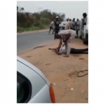 It was a stray bullet, Customs reacts to the killing of a civilian by its official (Video)