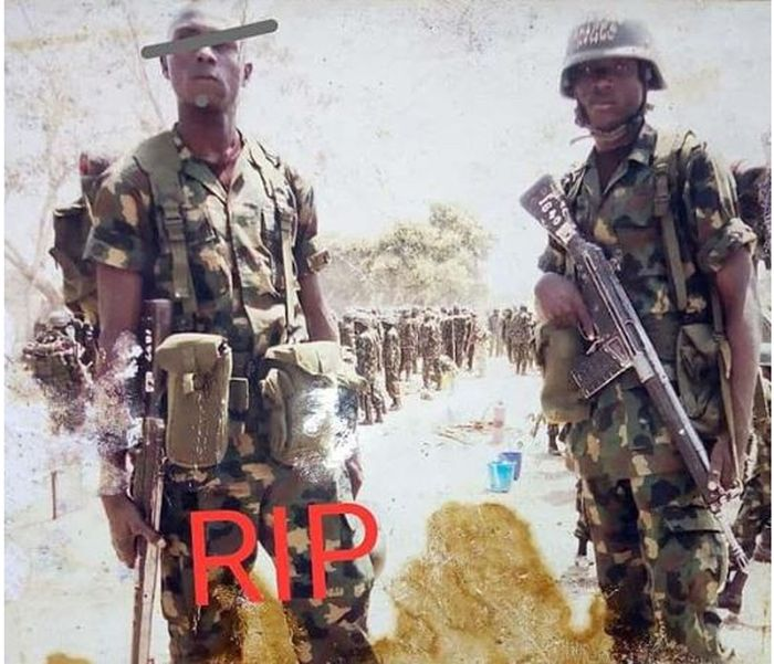 SAD: Soldier Reveals How His Friend Killed Himself While Fighting Boko Haram