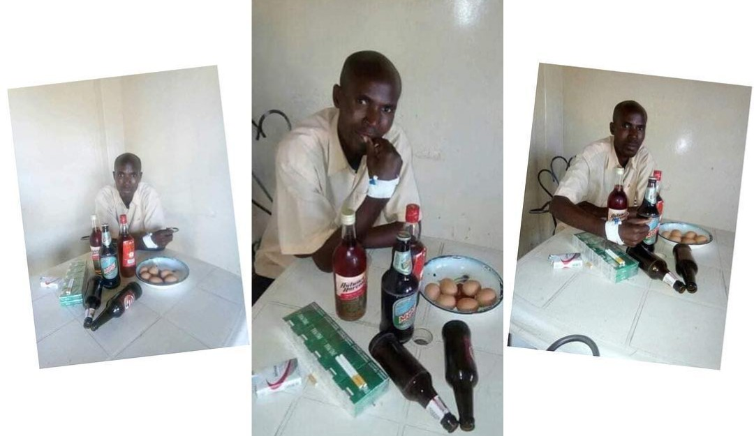OMG: Cancer patient sneaks out of the hospital to drink and smoke