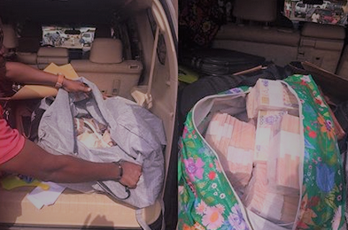 APC governorship candidate's agent caught with bags of cash