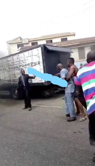 Just In: Man devastated as truck crushes his wife and kid as they're returning from church today [Video]