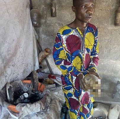 Herbalist attempts selling lady's body parts, after helping her family bury her