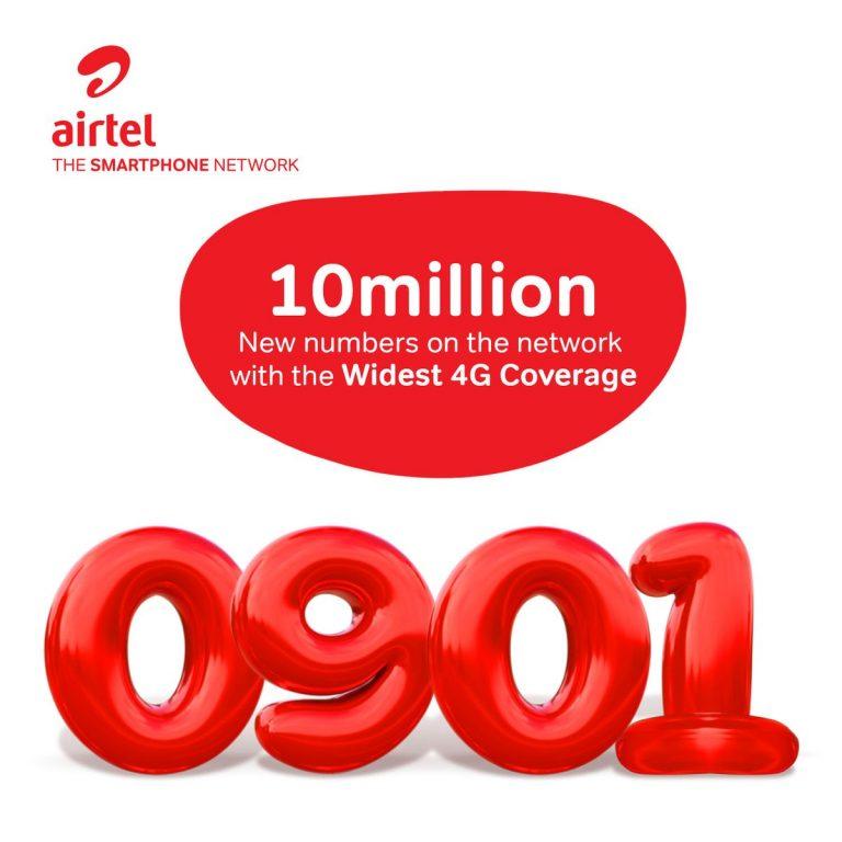 """Airtel Nigeria Unveils New Number Range """"0901"""""""