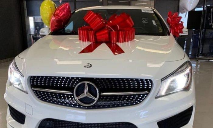 Bobrisky Acquires Multi Million Naira Mercedez Benz