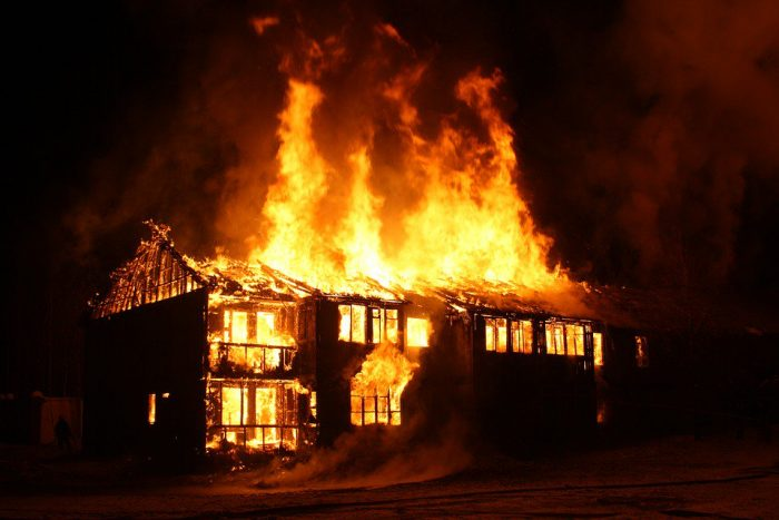SAD!!! An Inferno Killed A Pregnant Woman And Her Two Children In Anambra