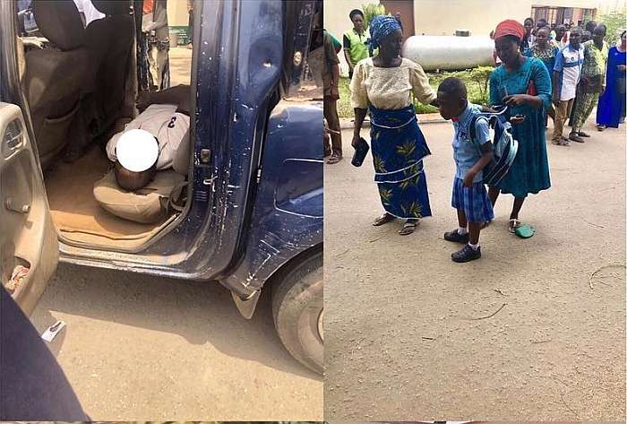 SAD!!! Policemen Beat Civil Defense Officer To Death In His Family's Presence