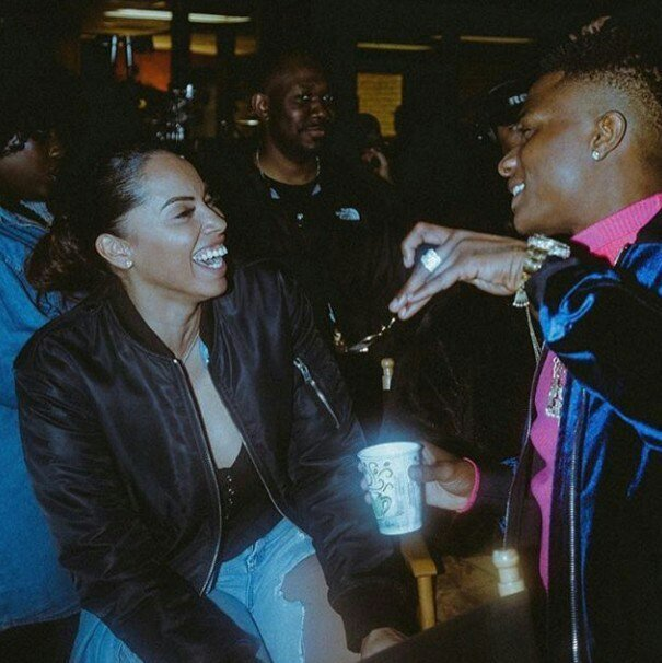 Wizkid's Manager; Jada P, Reveals She Is Married To Him