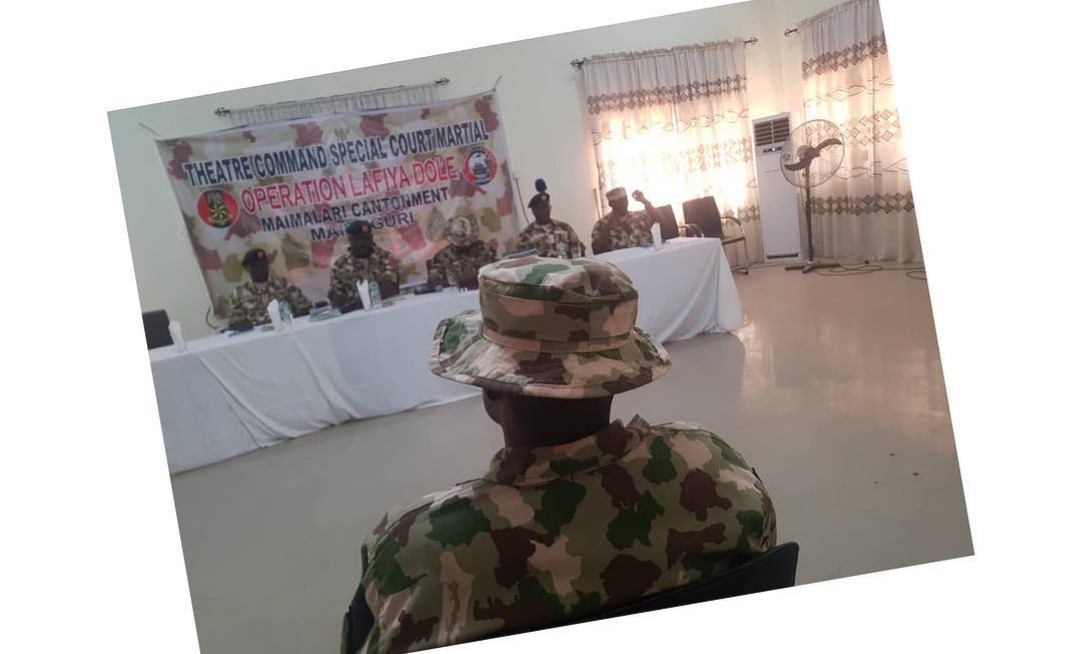 What!!! Soldier sacked for defiling a 14-year-old IDP