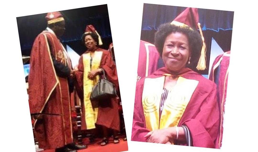 77- year-old woman graduates fromUNILAG