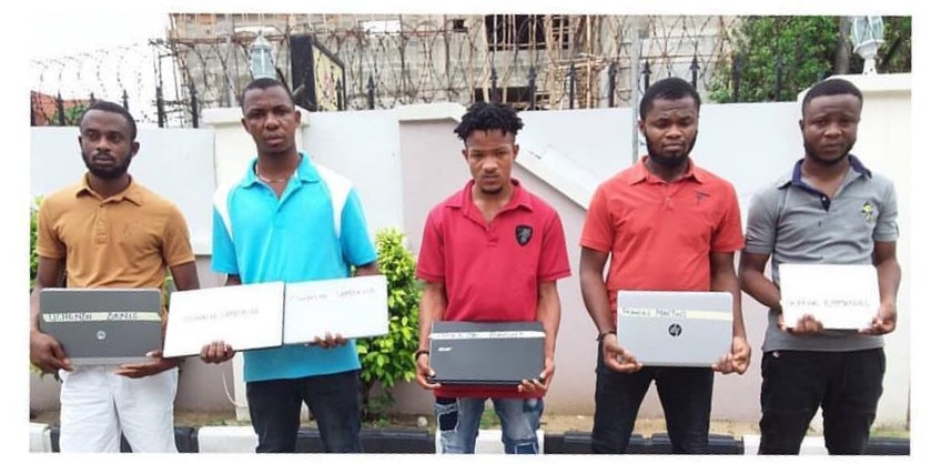 Five Suspected Internet Fraudsters Nabbed with 123 sim cards in Uyo