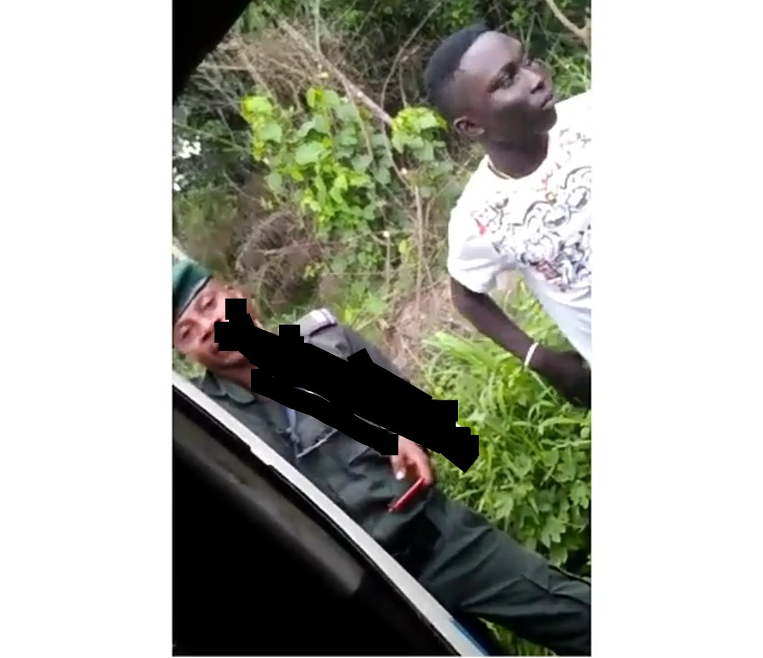"""Policeman destroys DELSU student's phone for being too """"expensive"""""""