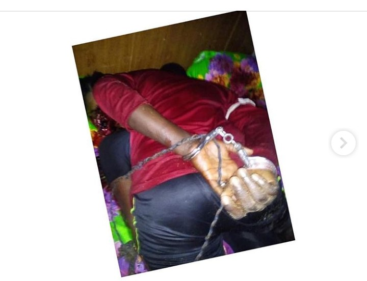 "Graphic: Scorned man shoots his ""cheating"" girlfriend in Bayelsa"
