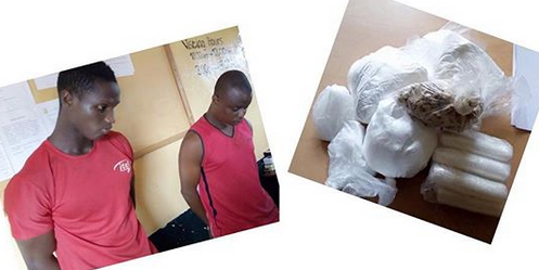 Nigerian Biggest Drug Dealers in Liberia, Nabbed with L$12m Worth of Heroine.