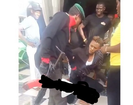 WOW!!! Man fakes police arrest to propose to his girlfriend in Delta State [Watch Video]