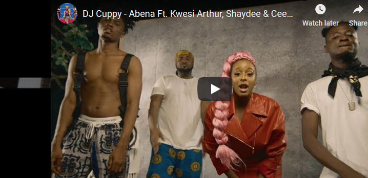 [Video] DJ Cuppy ft. Kwesi Arthur, Shaydee, Ceeza Milli – Abena