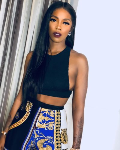 Tiwa Savage Sends Message To Other Female Artistes