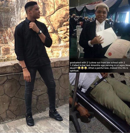 SAD: Corps member dies after falling from aDanfoin Lagos