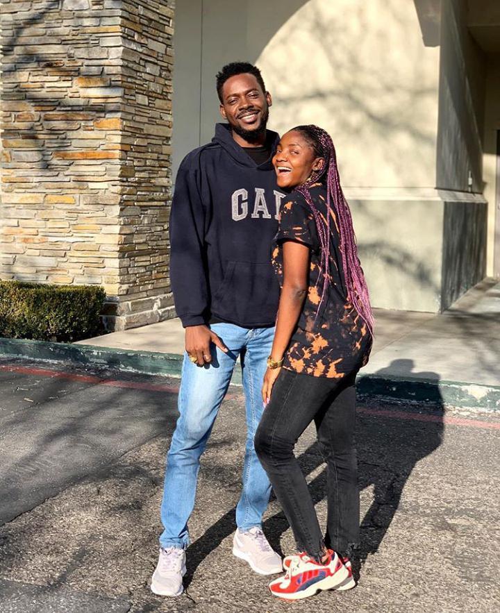 Cute Photos as Adekunle Gold celebrates his wife, Simi's birthday today!