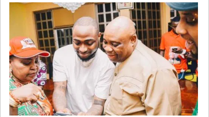 Davido Gets Involved Yet Again In The Osun Election Saga, Says Gbenga Oyetola Should Vacate The Seat For His uncle