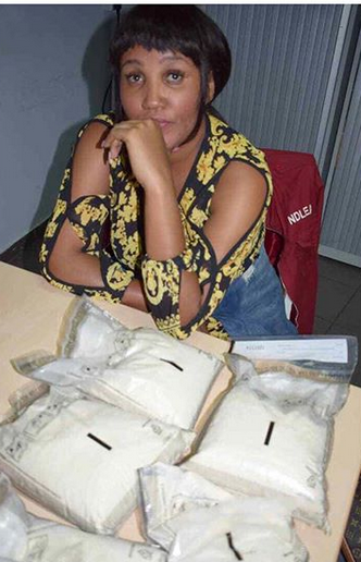 Kenyan Model Arrested With 6.5kg Of Cocaine In Nigeria