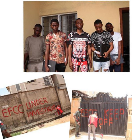EFCC Arrests Proprietor, Students of Yahoo Training School