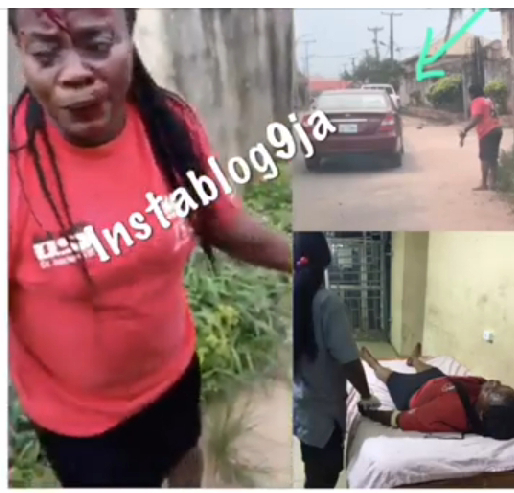 OMG!! Policeman shoots a lady while trying to shoot a dog (Watch Video)