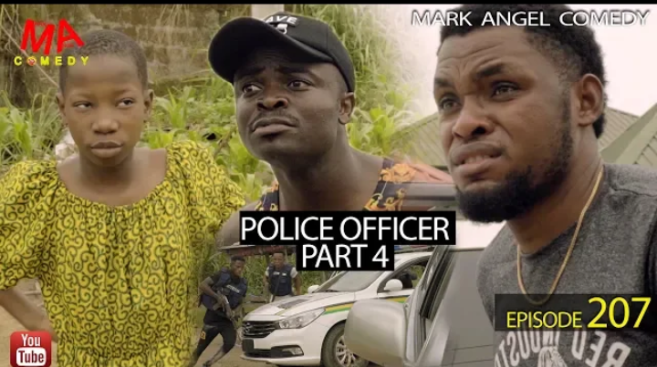 [Comedy] Mark Angel Comedy - Police Officer Part 4