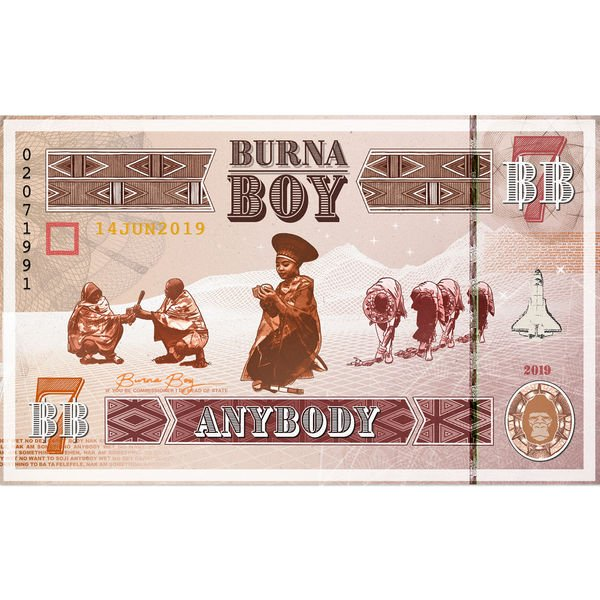 [Music] Burna Boy -- AnyBody