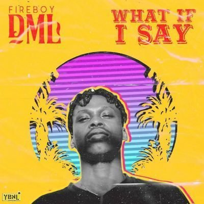 [Music] FireBoy DML -- What If I Say