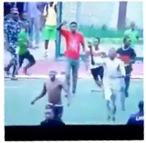 Referee seen running for dear life after an NPFL match, yesterday, in Lagos (Watch Video)