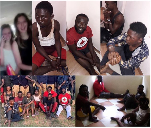 3 Nigerians, 5 Ghanaians arrested for kidnapping 2 Canadians