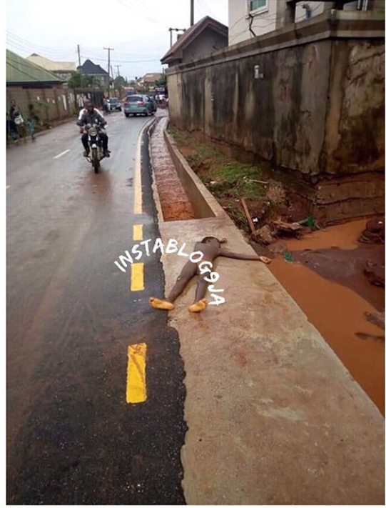Graphic: Flood Sweeps Away 12-Years-Old Girl In Delta