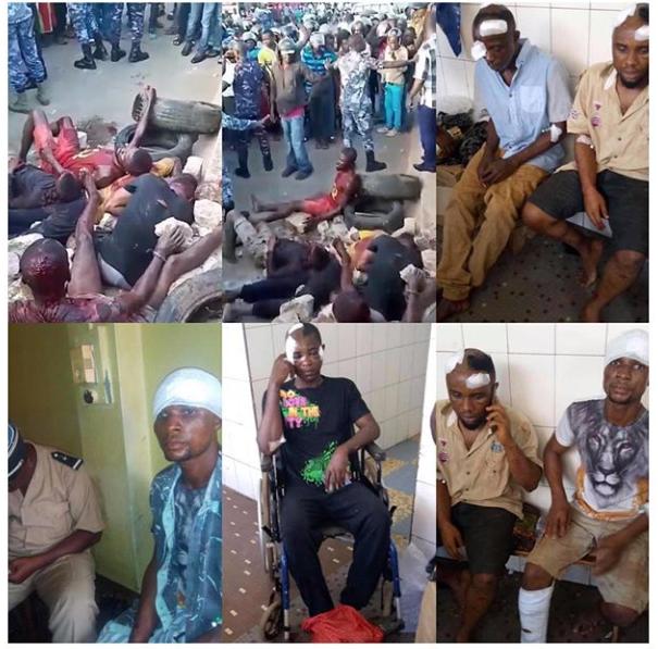 Jungle Justice: 5 Nigerians Rescued in Togo