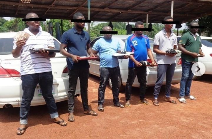 Five Suspected Internet Fraudsters Arrested in Enugu