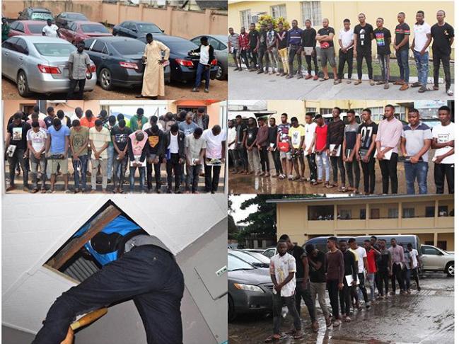 54 Suspected Yahoo Boys in Osun, Ogun State