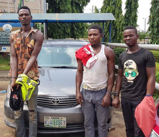 3 Uber- Snatching Robbers Arrested