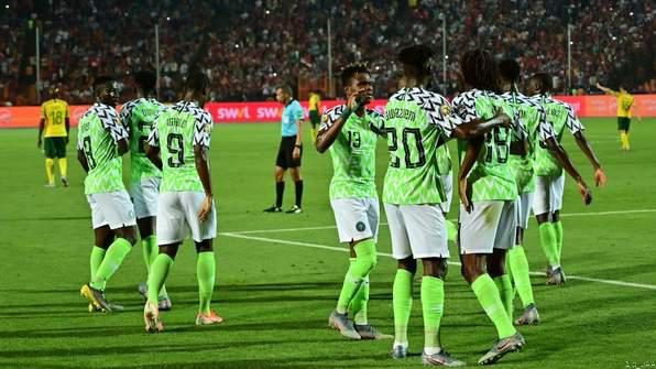 BREAKING:  Nigeria Wins South Africa  2-1 and Goes to AFCON Semi-Finals
