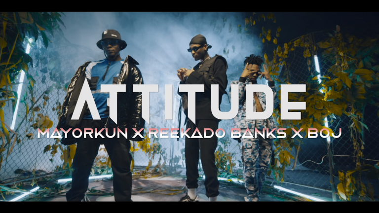 [Video] Attitude ft. Mayorkun x Reekado Banks x BOJ – Higher Your Body
