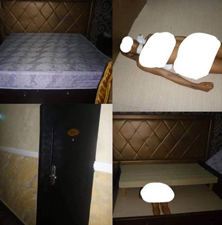 [Graphic] Lady Found Dead under the Bed in a Hotel in Imo State