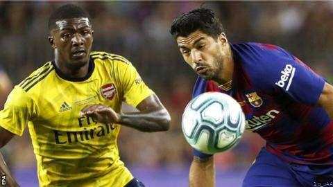 [Sports] Friendly : Late Suarez Goal Helps Barca Beat Arsenal