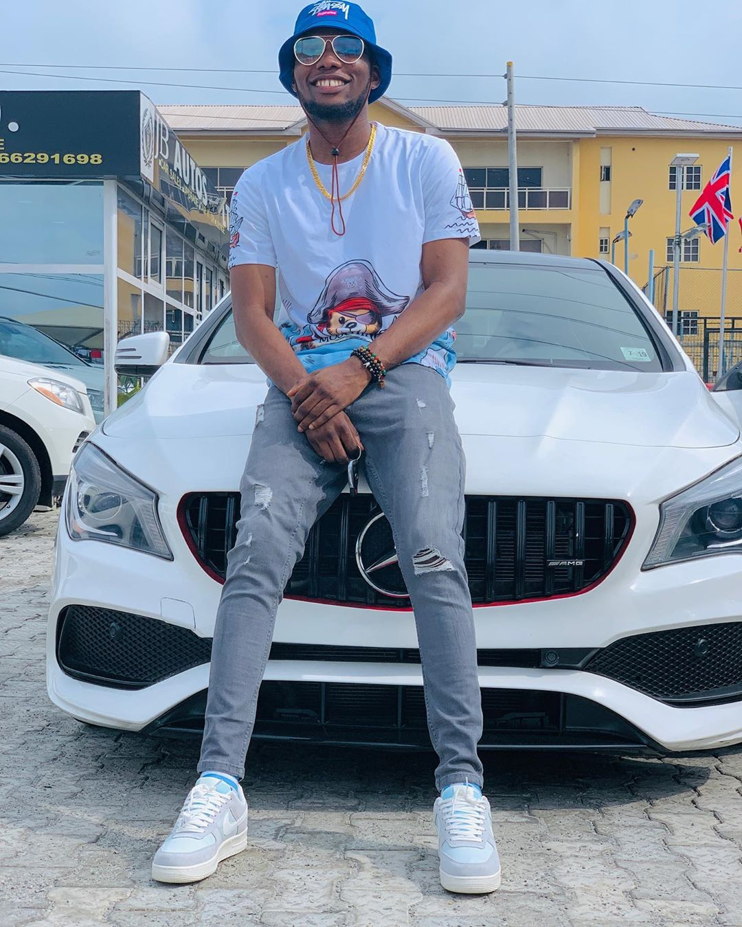 Victor AD Buys Himself A Brand New Mercedes Benz