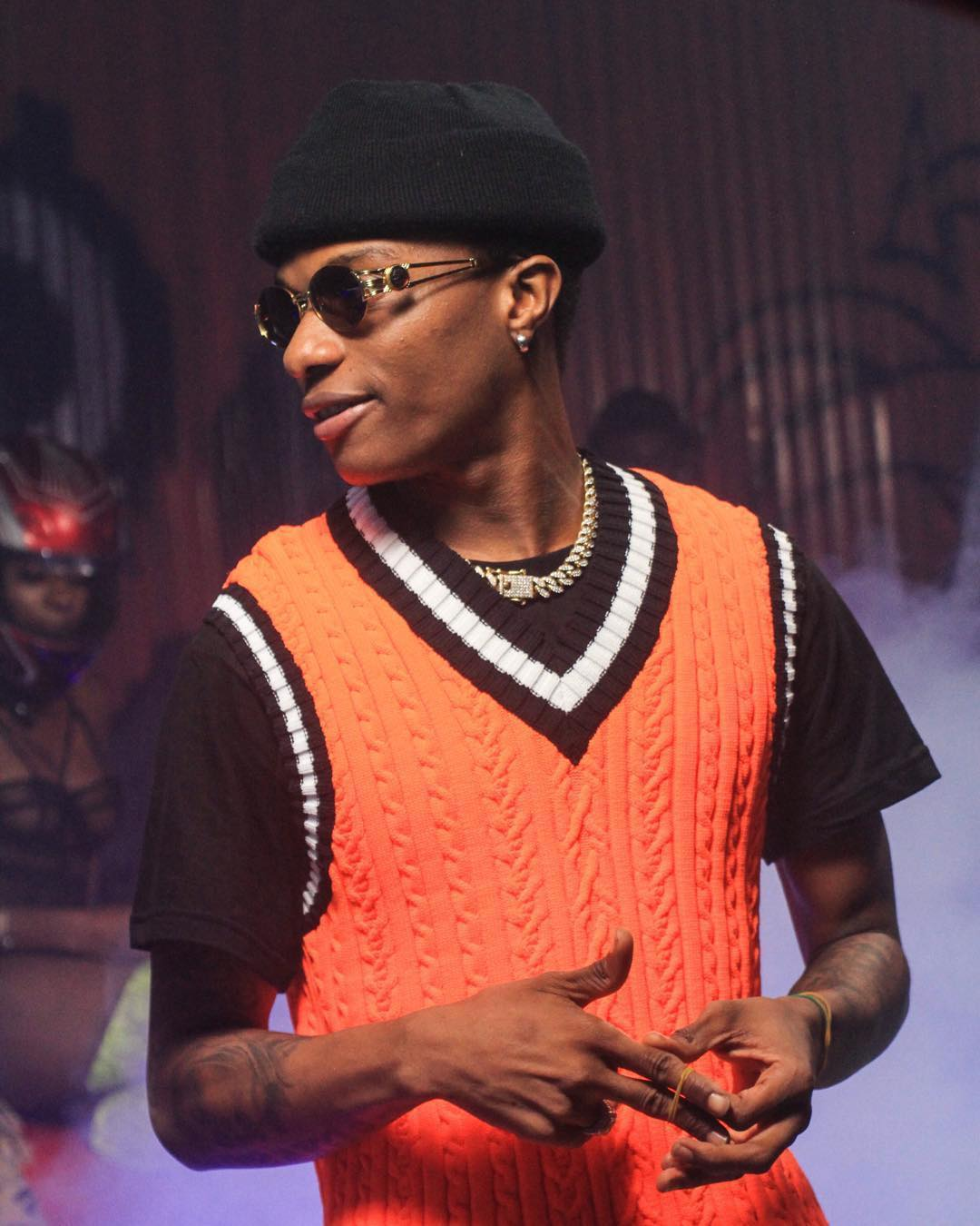 [Music] Wizkid - Ghetto Youth (Freestyle)
