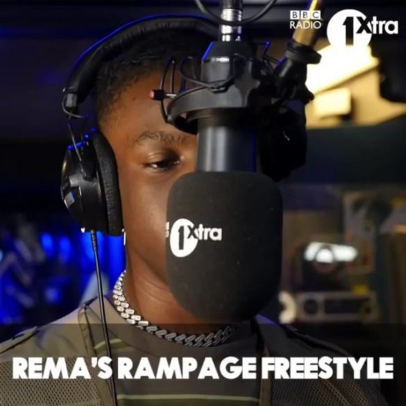 [Music] Rema - Rampage (Freestyle)