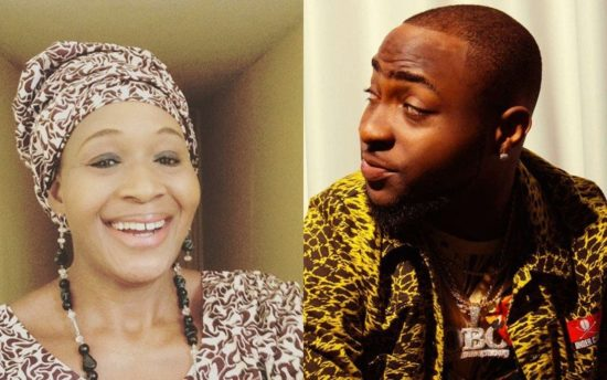 Kemi Olunloyo gives N50k to Davido's alleged daughter, Anu Adeleke for her birthday
