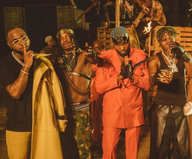 [Video] Davido ft. Naira Marley x Zlatan x WurlD - Sweet In The Middle