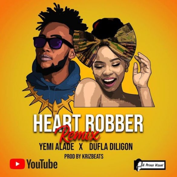 [Music] Yemi Alade ft. Dufla Diligon - Heart Robber (Remix)
