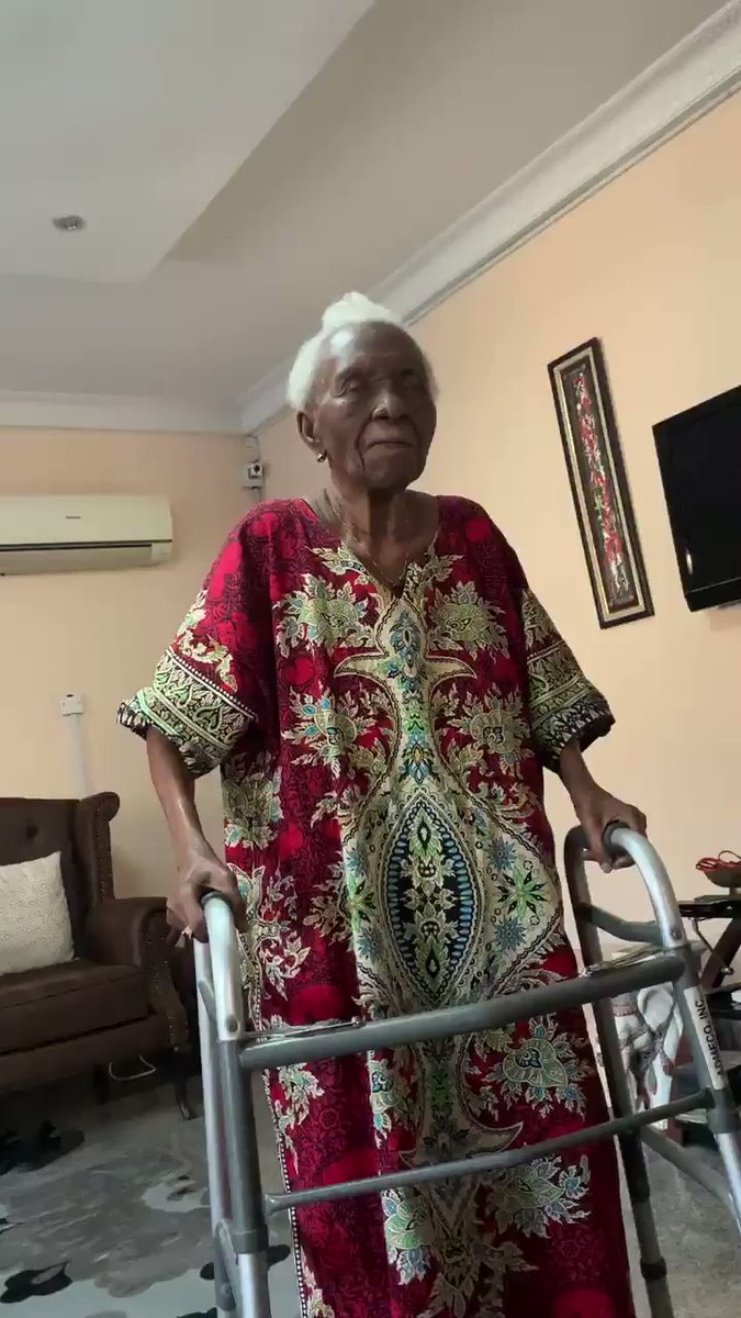 Grandma Who Went Viral For Dancing To Fireboy's Song Vibration, Has Passed Away