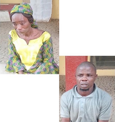 GRAPHIC: Couple tie their daughter to the ceiling and set fire under her over N3k theft